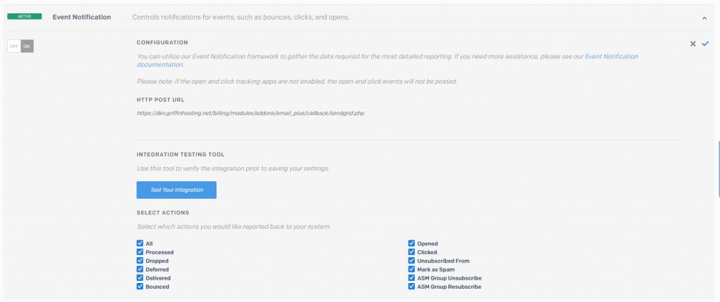 Sendgrid - Email Plus+